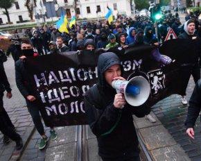 Комуністична зараза не буде розповсюджуватись, - націоналісти на марші УПА