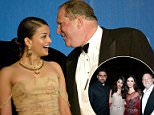 Aishwarya Rai (above with Weinstein in 2003) had recently joined Hollywood when Weinstein repeatedly asked her agent how he could get her alone after a meeting about Bride and Prejudice