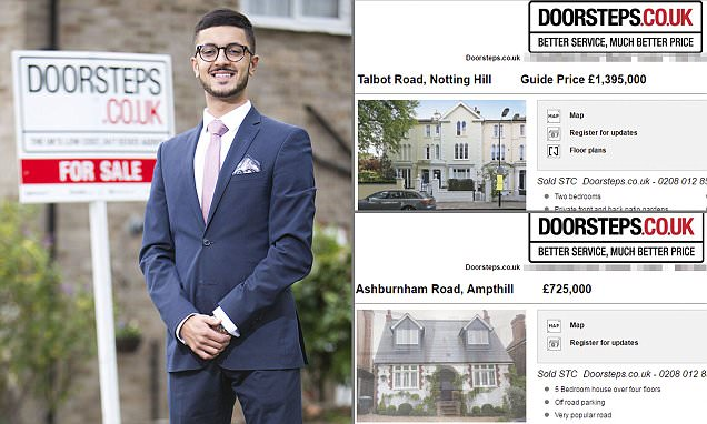 Teenager set up £12m doorsteps.co.uk while in sixth form
