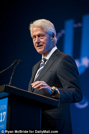 On Friday night, Bill Clinton gave the opening address for the CGI University conference, and led a conversation with a panel of activists