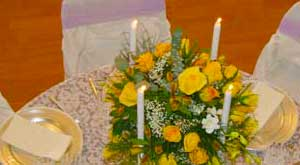 wedding event table centerpieces