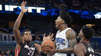 Heat forward Justise Winslow after Heat's loss to Magic in season opener
