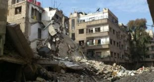 The regime forces launch 15 shells on the outskirts of Damascus and on areas west of Ghouta and its center