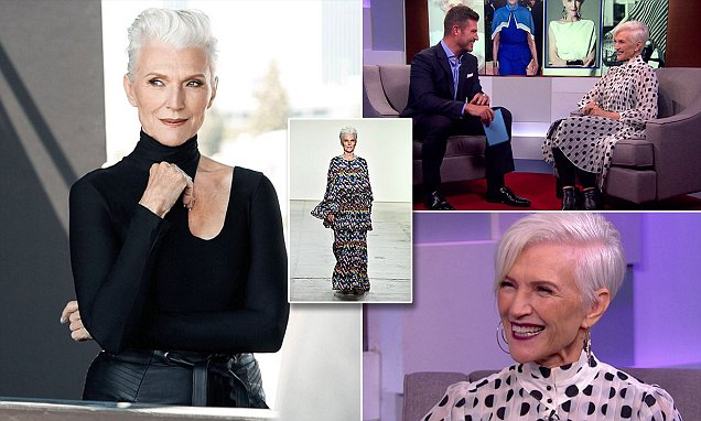 Model Maye Musk reveals beauty secrets on DailyMailTV