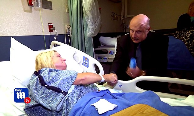 First look at Dr Phil's visit with Las Vegas survivors