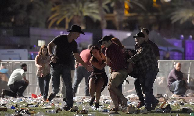 Las Vegas shooting at Mandalay Bay Casino hotel