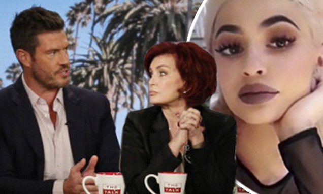 The Talk hosts and Jesse Palmer talk Kylie Jenner's lips