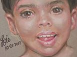 A forensic sketch artist has since created an image of the boy that are police are hoping to use to track down his family (pictured)