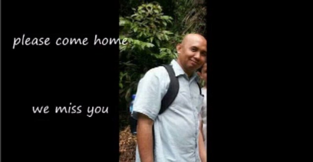 Plea: The video asks for Mr Shah to come home