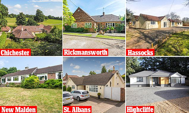 Can you guess the price of the bungalows for sale?