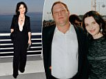 French actress Juliette Binoche (with Harvey Weinstein at the Festival of American Film in Deauville, France in 1998) says she was never a victim of Harvey Weinstein because she had 'learned early to be responsible' and 'knew very well what beast there was in him'