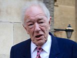 Sir Michael Gambon paid his respects to beloved actor Robert Hardy who died in August aged 91. The pair starred together in the Harry Potter series of films