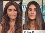 Speaking out:Mimi Haleyi and Dominique Huett (above) , the look-alike women who said on Tuesday that they had been raped by Harvey Weinstein, were on 'Megyn Kelly Today'