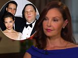 Speaking out:Ashley Judd sat down with Diane Sawyer in her first interview since accusing Harvey Weinstein of sexual harassment (above on Good Morning America)