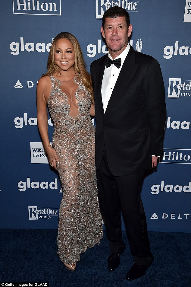 'Mistake': James said in an interview with The Australian: 'She was kind, exciting and fun. Mariah is a woman of substance. She is very bright. But it was a mistake for her and a mistake for me,' he noted