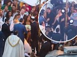 Guy Oseary and wife Michelle Alves take vow renewal