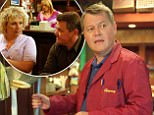 CORONATION STREET Wednesday 4 August 2004 at 7.30pm Eileen (SUE CLEAVER) listens to Harry's (IAIN ROGERSON) plans to go travelling around Europe - She gets a shock when he asks her to go with him.