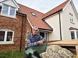 Derek Jordan, 78, moved into his five-bedroom £520,500 home but it was beset with problems