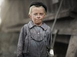Donnie Cole hesitated before he said he was twelve years old. Another young boy nearby said: 'He can't work unless he's twelve.' Child labor regulations were conspicuously posted in the mill in Birmingham, Alabama