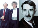 Kevin Spacey's older brother Randall Fowler (the brothers pictured together in 2003) has spoken out about their abusive Nazi father exclusively to DailyMail.com