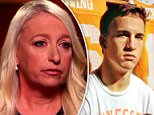 Dr Jamie Naughright has spoken about the 1996 incident in which she claims Peyton Manning rubbed his testicles on her face while she was treating him