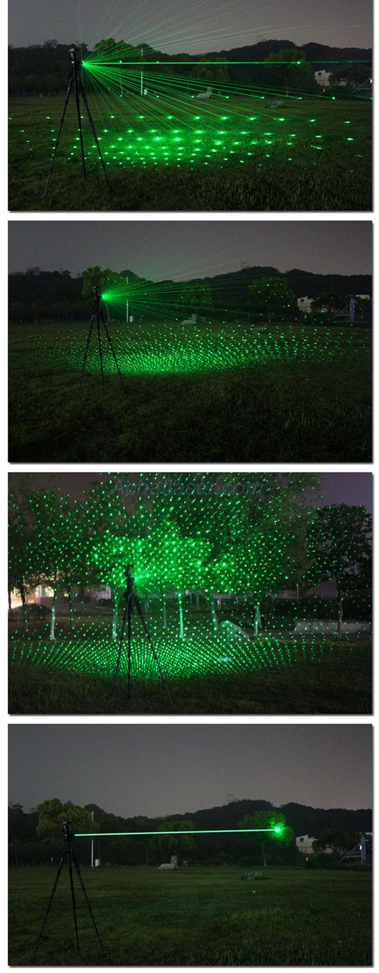 Güner Laserstrahl von 10000mW Laserpointer