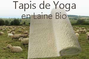 Tapis de Yoga en laine Yogimag