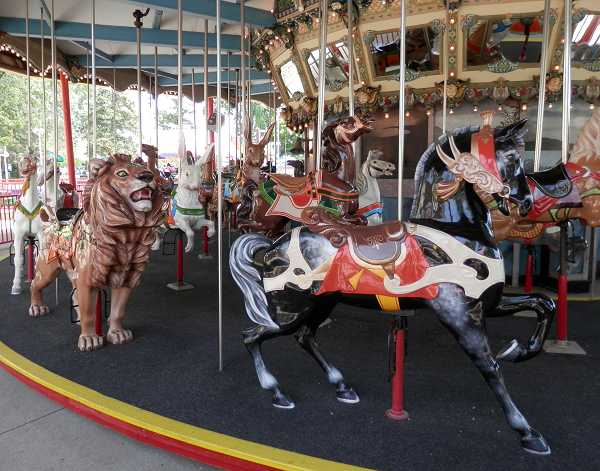 Cedar Point's Midway Carousel