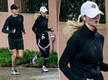 Despite their high-profile jobs and busy schedules, Ivanka Trump and her husband Jared Kushner still make time for each other as they were spotted on a jog together in their Washington DC neighborhood on Saturday morning