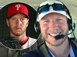 Roy Halladay (pictured) died when his plane crashed into the Gulf of Mexico, around 10 miles west of St Petersburg, at 1pm on Tuesday