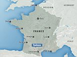 A driver 'suffering from acute schizophrenia' ploughed into a group of Chinese students leaving a college in the suburb of Blagnac, near Toulouse, on Friday