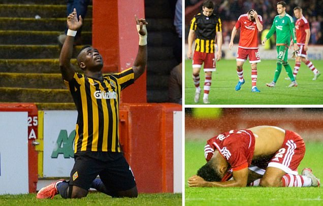 Aberdeen 1-1 Kairat Almaty (agg 2-3): Dons suffer Europa League exit as Kazakhs edge