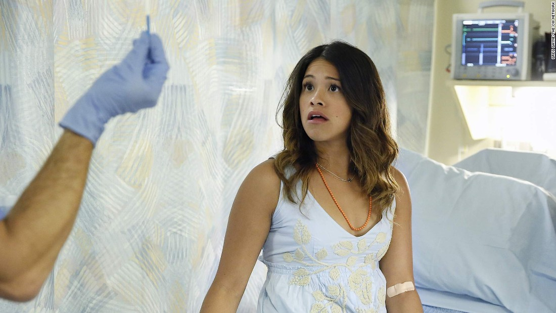 "<strong>Best actress in a TV series -- musical or comedy:</strong> Gina Rodriguez, ""Jane the Virgin"""
