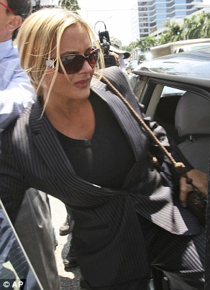 Charged: Kim Rothstein is accused of hiding $1million worth of jewellery and attempting to sell it on