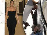 Kim Kardashian was seen arriving at the Contemporary Arts Center in New Orleans for Serena Williams and Alexis Ohanian's wedding