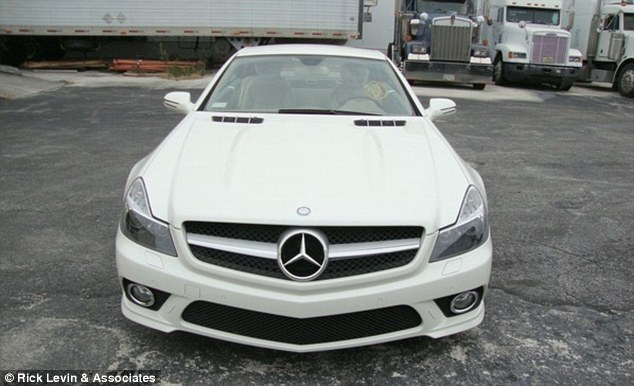 Driving in the fast lane: A 2009 Mercedes-Benz SL 550 Roadster with just 4,834 miles on the clock