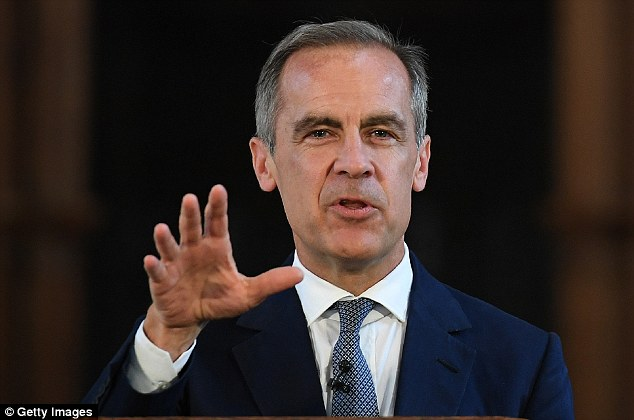 Bank Governor Mark Carney had been hinting a rate rise was imminent.