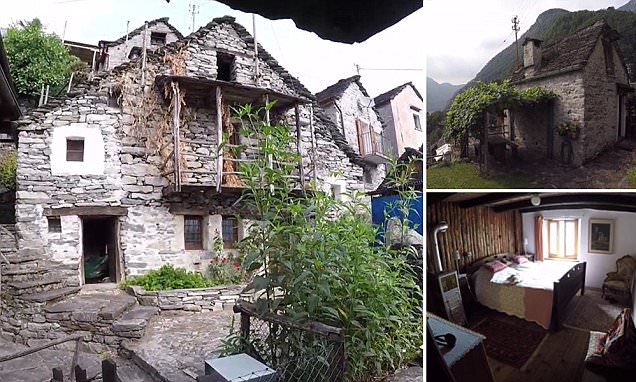 Swiss village of Corippo to be turned into a giant hotel