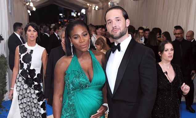 Serena Williams and Alexis Ohanian tying the knot