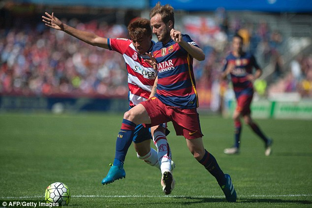 Croatian midfielder Ivan Rakitic was another player to move from Sevilla to Barcelona for £14m