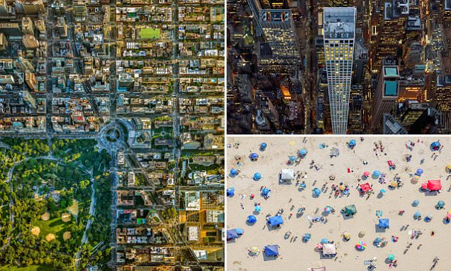 Jeffrey Milstein's aerial collection of LA and NYC