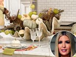 Shell to pay: A suggestion from Ivanka Trump's brand's Twitter account that people put a giant clam shell stuffed with driftwood and pallid pumpkins on their table for Thanksgiving led to an onslaught of mockery online
