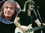 Legendary Australian guitarist and AC/DC co-founder Malcolm Young (pictured) died aged 64