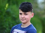 James Hiles, 12, wasput into 'isolation' at school for a Peaky Blinders-style haircut