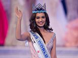 Miss India Manushi Chhilar wins the 67th Miss World contest final in Sanya, on the tropical Chinese island of Hainan on November 18, 2017