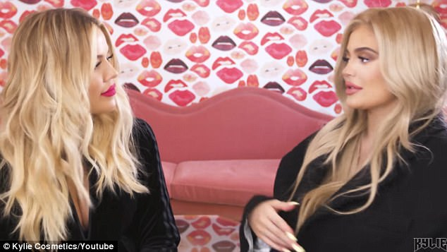 Close: 'Doing the collection with Kylie was really fun,' said Khloe