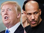 President Trump lashed out at LaVar Ball on Sunday, after Ball replied 'who?' when asked about his son's release from China. His son is UCLA basketball player LiAngelo Ball