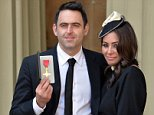 Former Holby City and Strictly star Laila Rouass (pictured with Ronnie O'Sullivan) was with her daughter Inez, 10, when 22-year-old Younes Abouyaaqoub drove a van into pedestrians on Las Ramlbas on August 17
