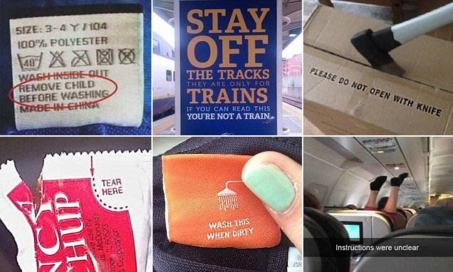 Pictures capture painfully obvious signs
