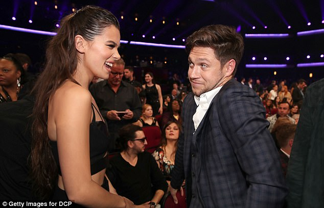 Oh hello there: Niall shared a sweet exchange with US musician and actress Hailee Steinfeld